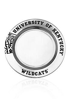 Wilton Armetale Kentucky Wildcats Small Round Tray