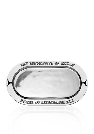 Wilton Armetale Texas Longhorns Large Oval Tray