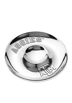 Wilton Armetale Texas A & M Aggies Chip and Dip Platter