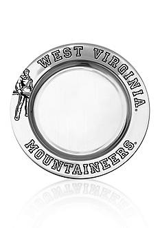 Wilton Armetale West Virginia Mountaineers Small Round Tray