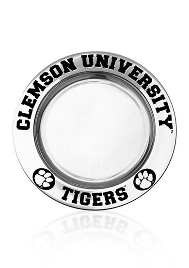 Wilton Armetale Clemson Tigers Small Round Tray