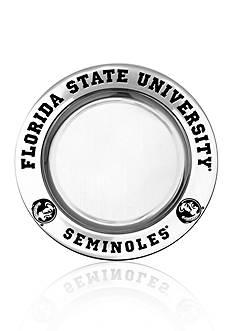 Wilton Armetale Florida State Seminoles Small Round Tray