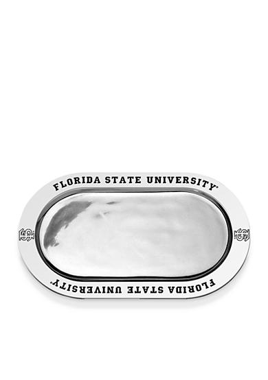 Wilton Armetale Florida State Seminoles Large Oval Tray