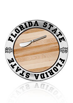 Wilton Armetale Florida State Seminoles Small Round Cheese Board