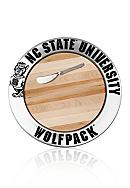 Wilton Armetale NC State Wolfpack Small Round