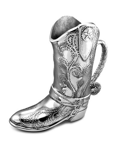 Wilton Armetale Cowboy Boot 2-Qt. Pitcher