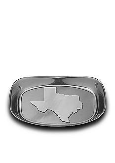 Wilton Armetale Texas Bread Tray