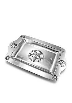Wilton Armetale Lone Star 17-in. Rectangular Tray - Online Only