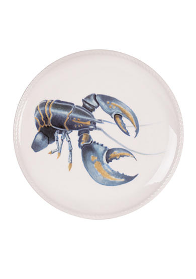 Fitz and Floyd Cape Coral Lobster Accent Plate