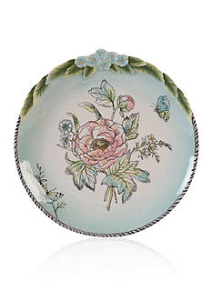 Fitz and Floyd English Garden Bloom Accent Plate