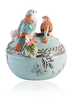 Fitz and Floyd English Garden Lidded Box