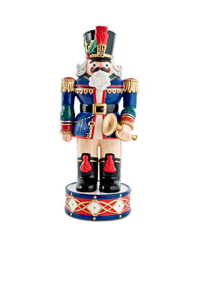 Fitz and Floyd Holiday Nutcracker Blue