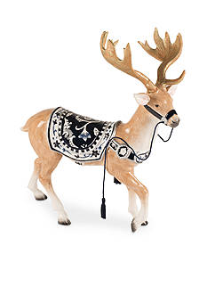 Fitz and Floyd Bristol Holiday Deer figurine