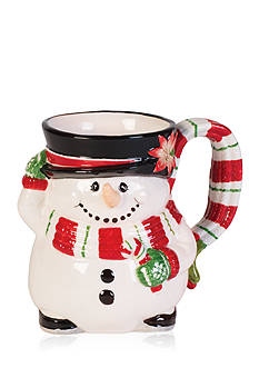 Fitz and Floyd Top Hat Frosty Mug