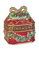 Fitz and Floyd Yuletide Holiday Collection Lidded