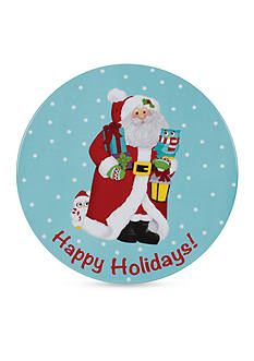 Fitz and Floyd Holiday Hoot Trivet