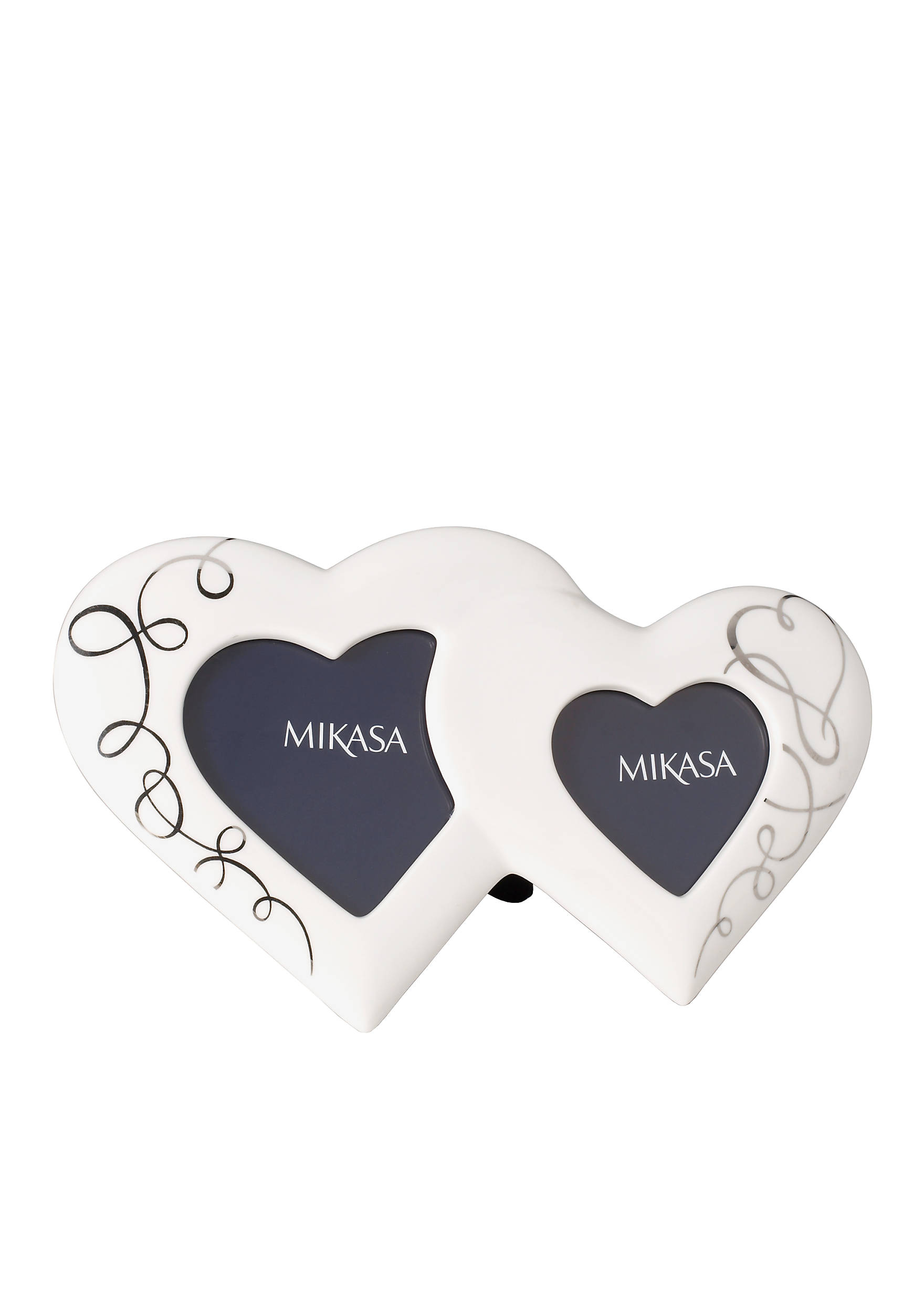 mikasa love story double heart frame belk mikasa love story double heart frame 76000305065570 images jeuxipadfo - Mikasa Picture Frames