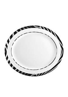 Mikasa Wild Zebra Large Platter
