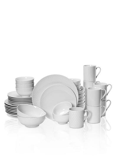 Mikasa Cheers White 40-Piece Place Setting