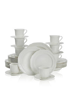 Mikasa Antique White 40-Piece Dinnerware Set
