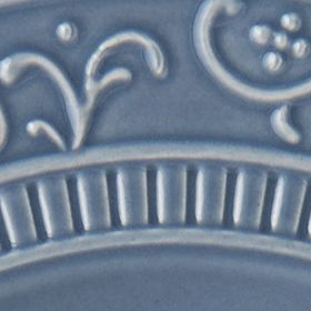 Casual Dinnerware Collection: Blue Mikasa Italian Countryside Scroll Salad Plate