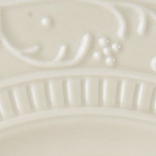 Casual Dinnerware Collection: Beige Mikasa Italian Countryside Scroll Salad Plate