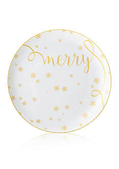 Mikasa Merry Delray Holiday Accent Plate