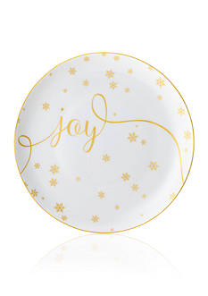 Mikasa Joy Delray Holiday Accent Plate