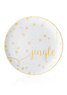 Mikasa Jingle Delray Holiday Accent Plate
