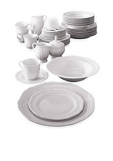 Mikasa Antique White 45-Piece Dinnerware Set