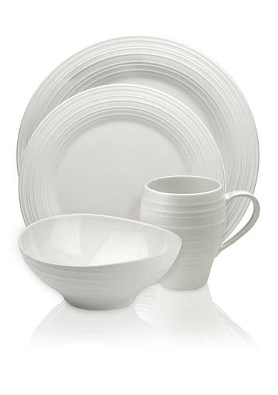 Mikasa Swirl White Collection