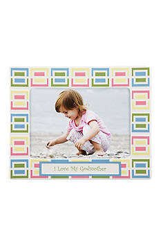Gorham Merry-Go-Round Pitter Patter I Love my Godmother 5x7 Frame