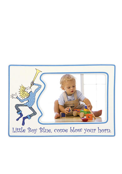 Gorham Merry-Go-Round Little Boy Blue 4x6 Character Frame