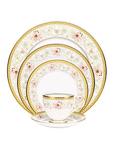 Noritake Blooming Splendor 5-Piece Plate Setting