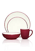 Colorwave Raspberry Coupe 4-Piece Place Setting
