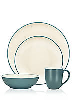 Colorwave Turquoise Coupe 4-Piece Place Setting