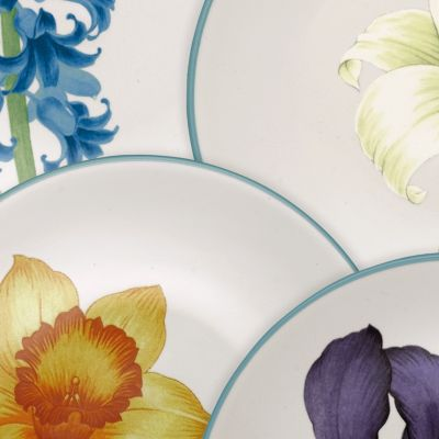 Casual Dinnerware Collection: Colorwave Turquoise Noritake Colorwave Turquoise Rim 4-Piece Place Setting