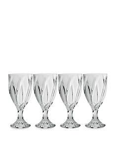 Noritake Breeze Clear Set of 4 Goblets