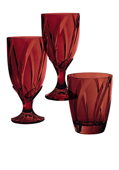 Noritake Breeze Red Stemware - Online Only