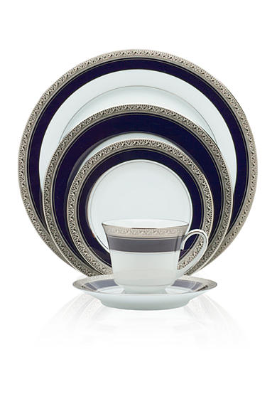 Noritake Crestwood Cobalt Platinum Collection
