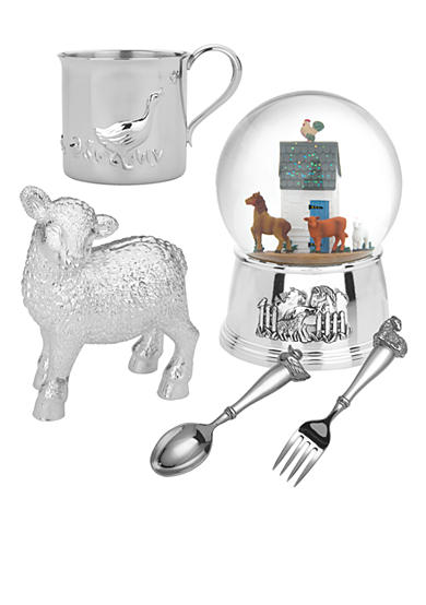 Reed & Barton Farmyard Friends Children Silver Giftware