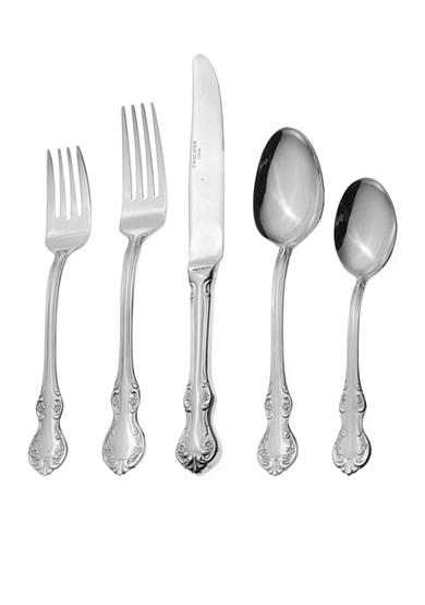 Towle Mia 55 Piece Flatware Set