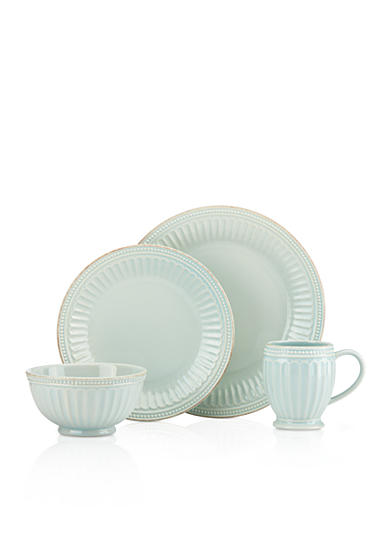 Lenox® French Perle Groove Ice Blue Dinnerware and Accessories