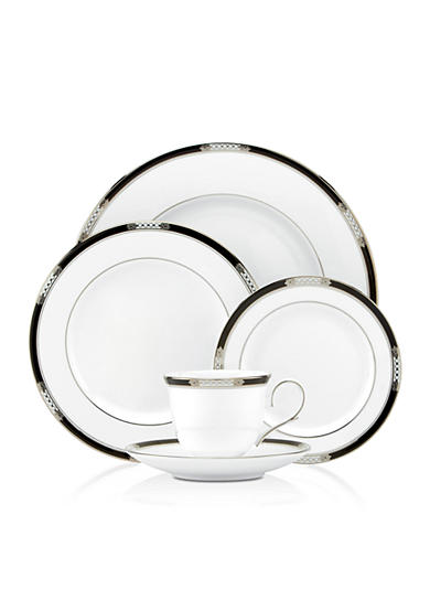 Lenox® Hancock Platinum White Dinnerware and Accessories