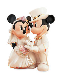 Lenox® Mickey & Minnie's Dream Wedding Figurine - Online Only