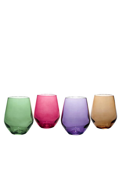 Lenox® Tuscany Harvest Simply Red Wine Tumblers Set of 4