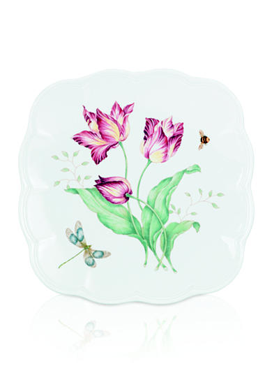 Lenox® Butterfly Meadow Square Accent Plate - Online Only