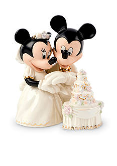 Lenox Minnie's Dream Wedding Cake Figurine - Online Only