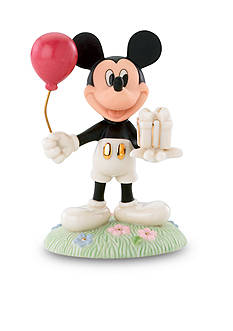 Lenox Mickey's Birthday Gift Figurine - Online Only