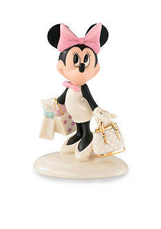 Lenox Minnie's Shopping Spree Figurine - Online Only